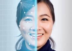 Reconnaissance faciale smartphone
