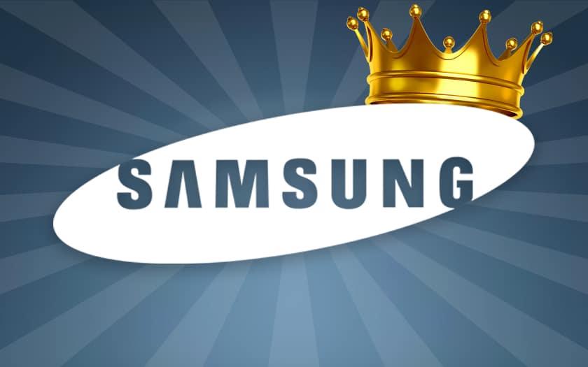 Samsung reste le numéro 1 mondial en termes de ventes de smartphones