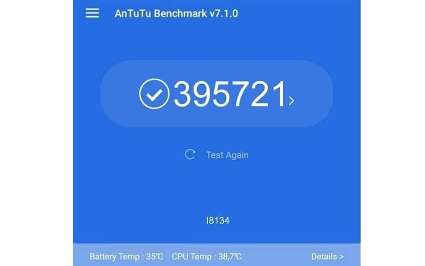 sony xperia XZ4 benchmark