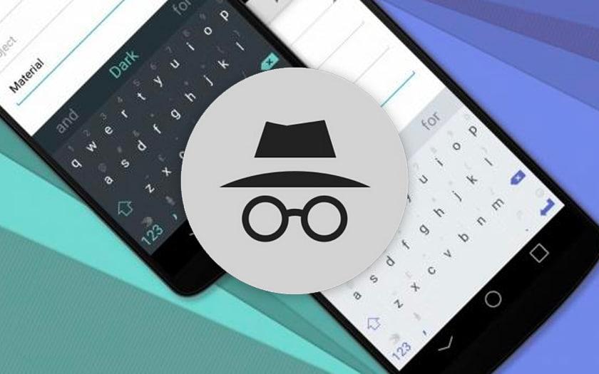 SwiftKey passe au mode Incognito automatiquement
