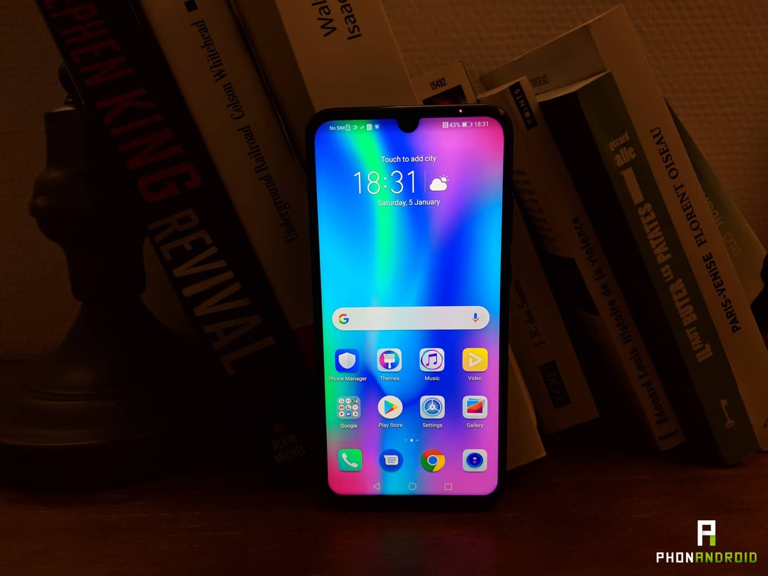 test honor 10 lite ecran