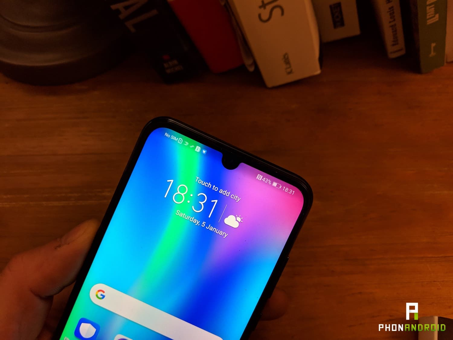 test honor 10 lite encoche