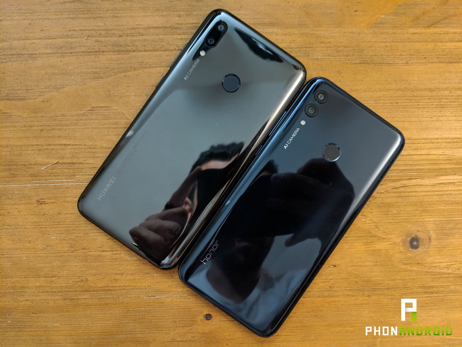 test honor 10 lite p smart design