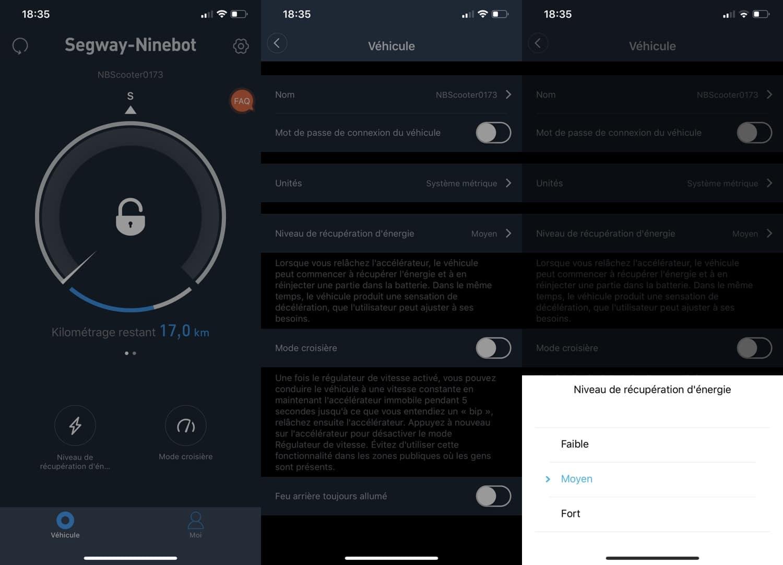 test segway ninebot es2 application