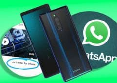 whatsapp milliard smartphones huawei utilise iphone sony xperia XZ4 benchmark