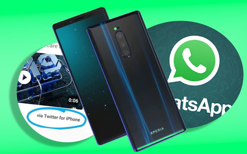 whatsapp milliard smartphones huawei utilise iphone sony xperia XZ4 benchmark