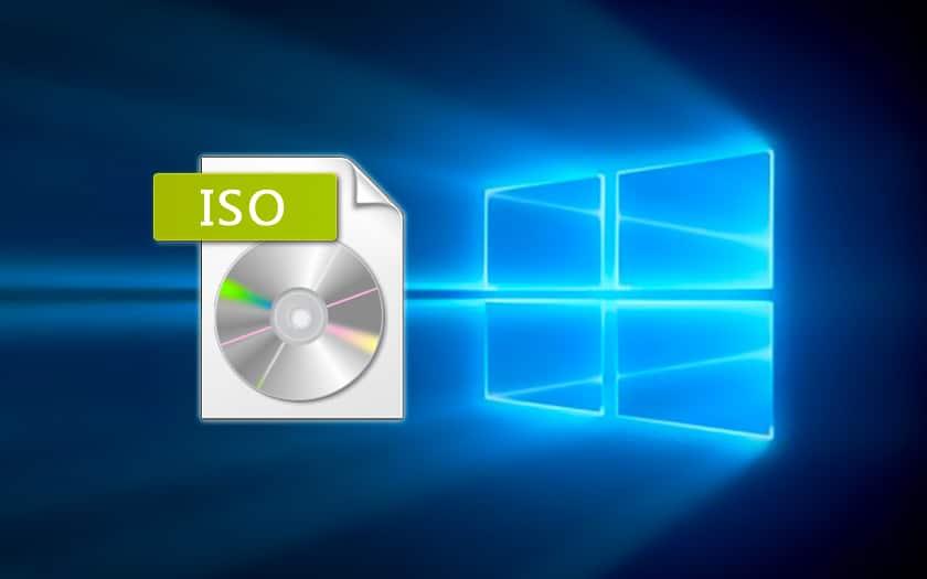 comment installer iso windows 10