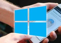 windows 10 empreintes android