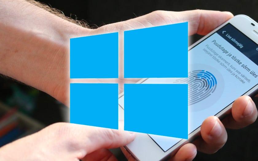 Déverrouiller Windows 10 avec le lecteur d'empreintes Android