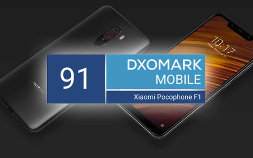 Le Pocophone F1 obtient un score DxOMark de 91