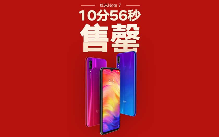 xiaomi redmi note 7 rupture stock