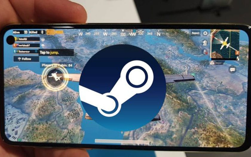 Samsung Galaxy S10 Steam