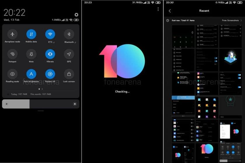 MIUI 10 : Xiaomi intègre un mode sombre natif à ses smartphones