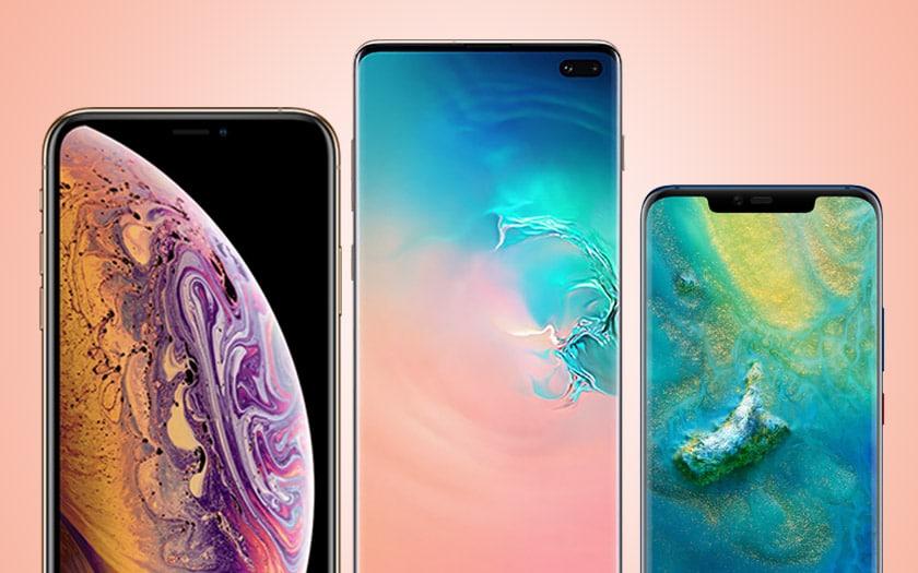 apple samsung effondrent huawei smartphones trop chers