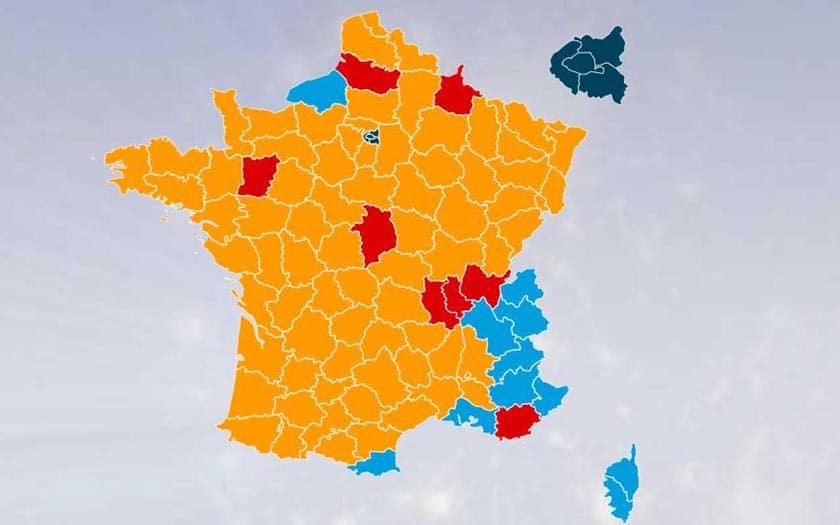 couverture 4g départements en France
