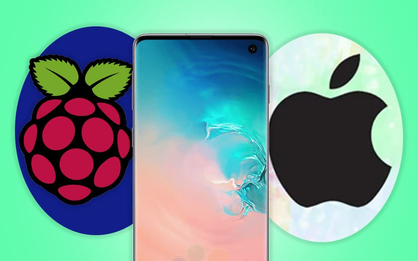 fans iphone jaloux android galaxy s10 ceramique raspberry pi windows 10