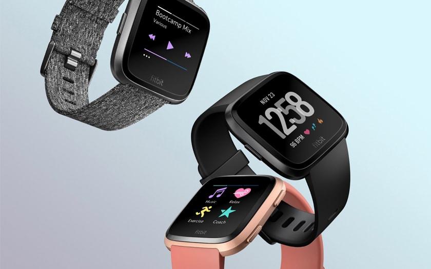 Cette smartwatch Fitbit a permis à la marque de faire bondir ses parts de marché / Fitbit