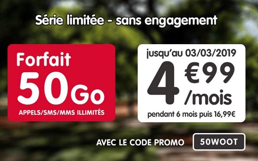 forfait nrj mobile 50 go promo