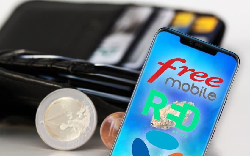 Augmentation du prix du forfait chez Free, SFR et Bouygues