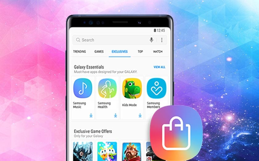galaxy apps store