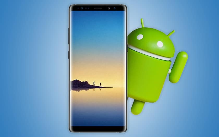 galaxy note 8 android pie mise jour