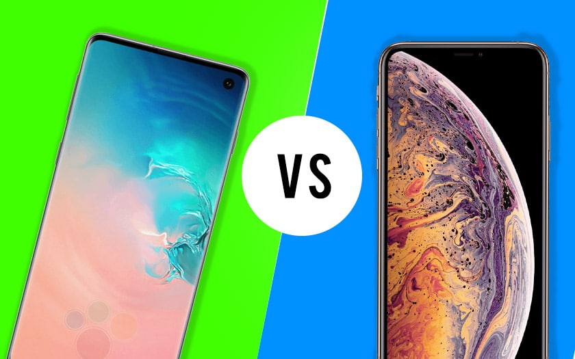 galaxy s10 vs iphone xs