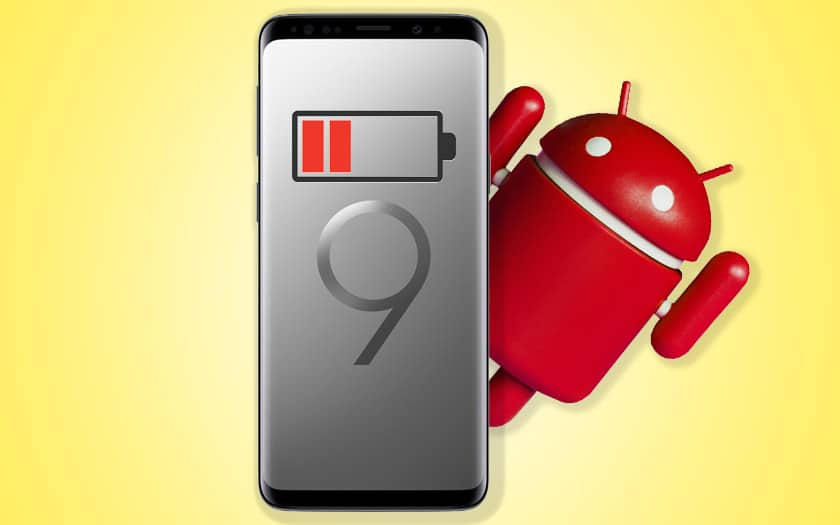 galaxy s9 s8 android pie ruine autonomie batterie