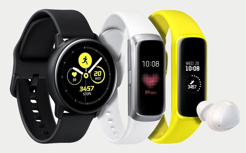 Galaxy Watch et Galaxy Fit