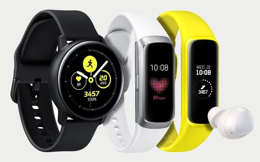 Galaxy Watch et Galaxy Fit