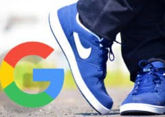 google chaussures connectées