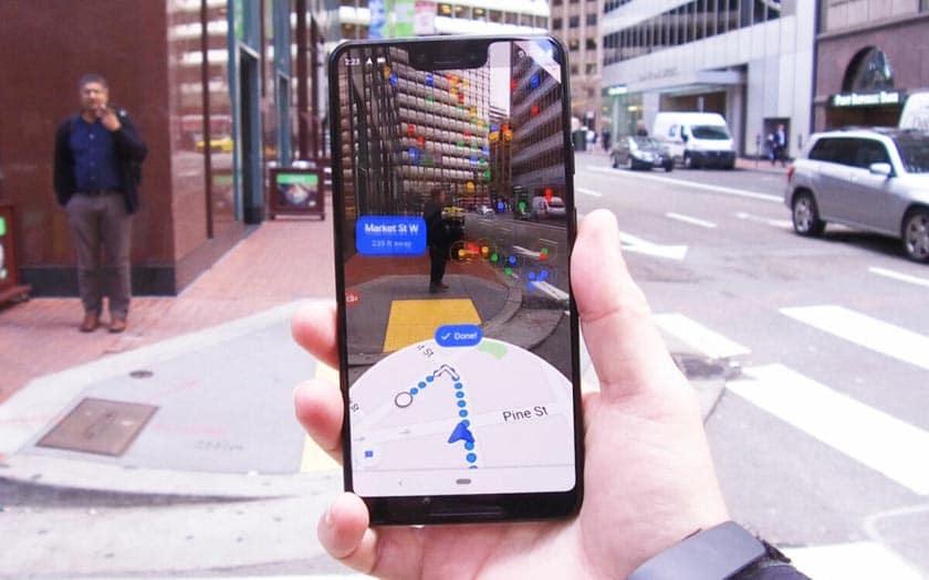 Google Maps déploie la navigation en réalité augmentée, pour  ...