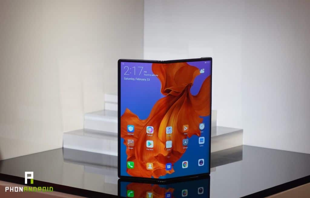 huawei mate x officiel
