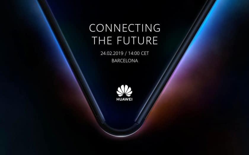 Huawei smartphone pliable Mate X MWC 2019