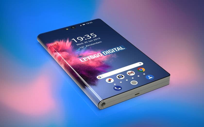 huawei pliable smartphone 5g