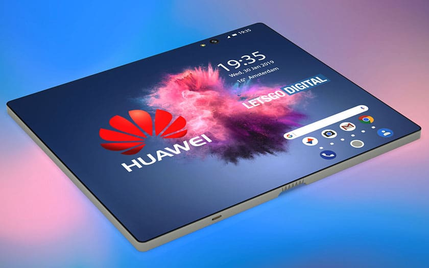 huawei smartphone pliable 5G