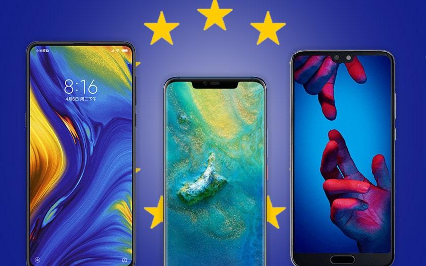 huawei xiaomi smartphones chinois europe