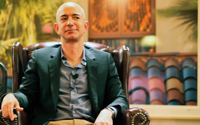 Jeff Bezos patron d'Amazon