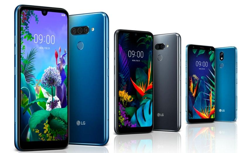 LG K40, LG K50 et LG Q60