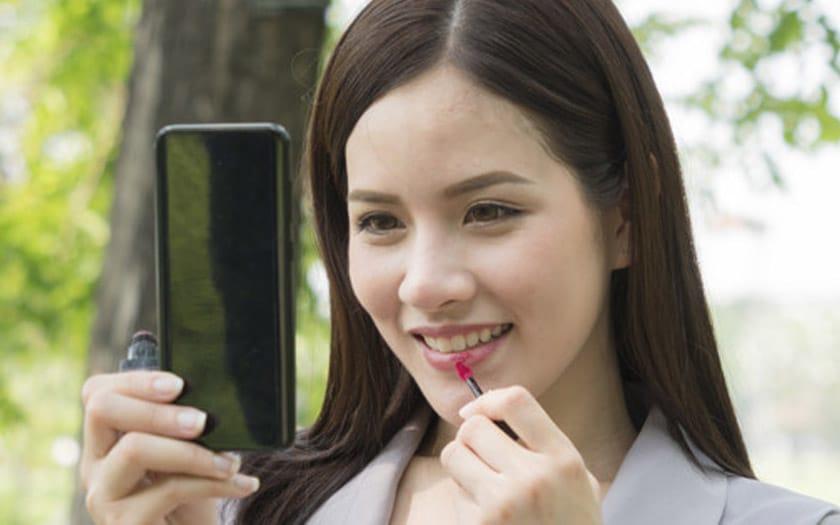 lippass deverrouillez smartphone lèvres