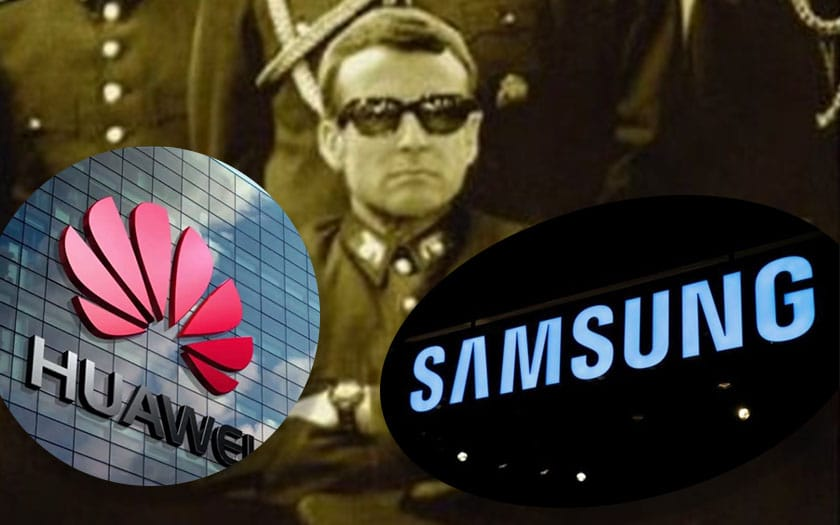 samsung numero 1 huawei espionnage mails google supprimer photomontage macron