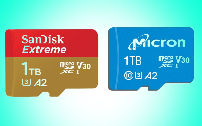 sandisk micron cartes microsd 1to