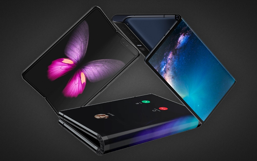 Smartphones pliables attendus en 2019