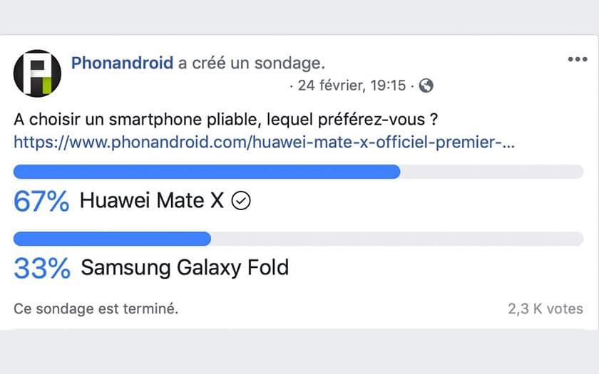 sondage galaxy fold mate x