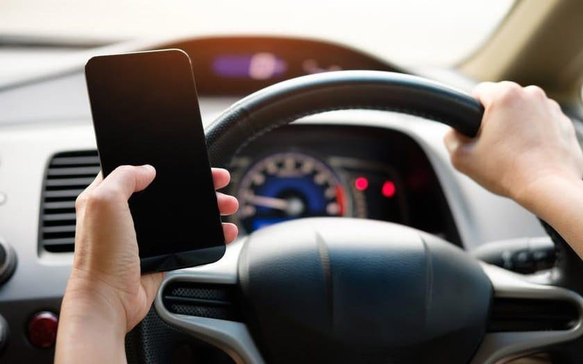 téléphone volant retrait permis double infraction