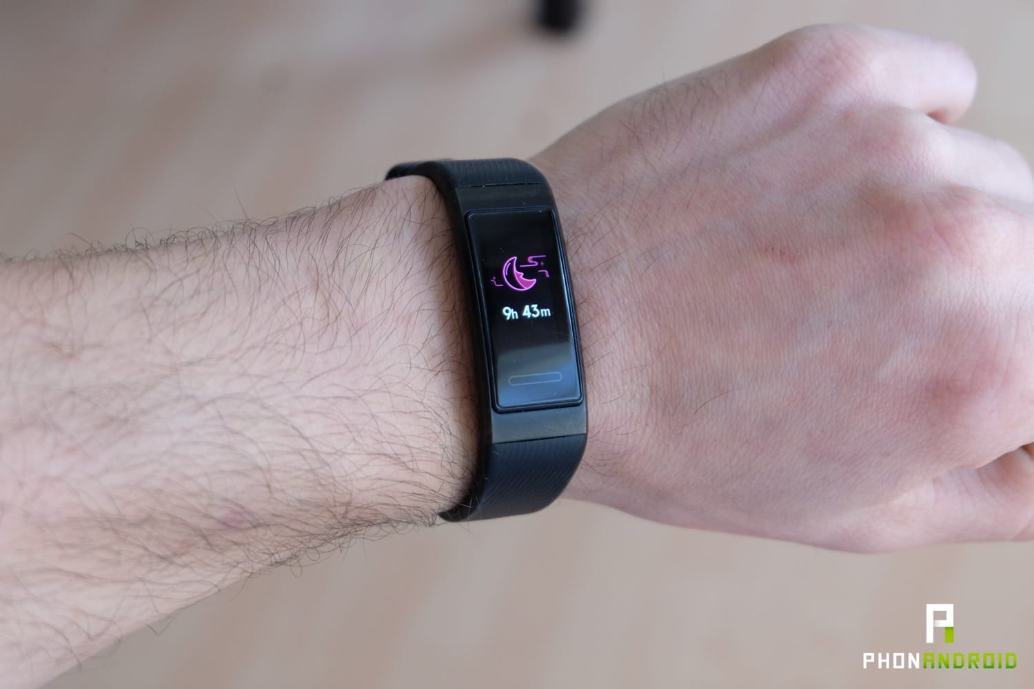 test huawei band 3 pro sommeil