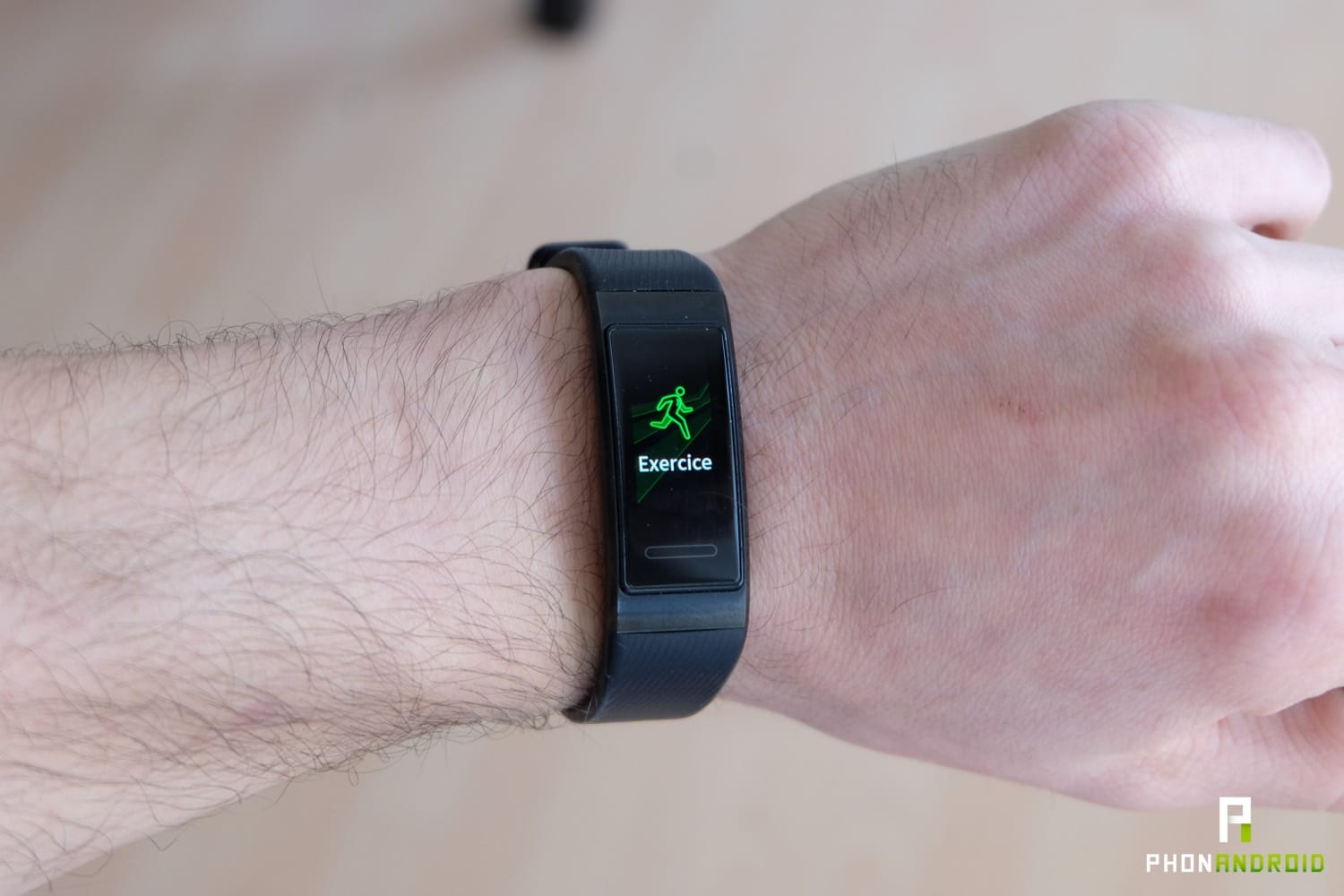 test huawei band 3 pro sport