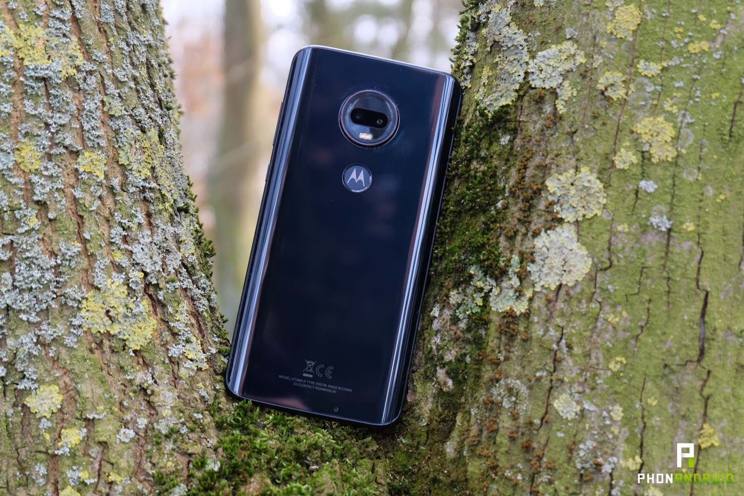 test moto g7 plus design