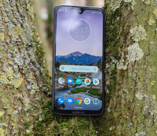 test moto g7 plus ecran