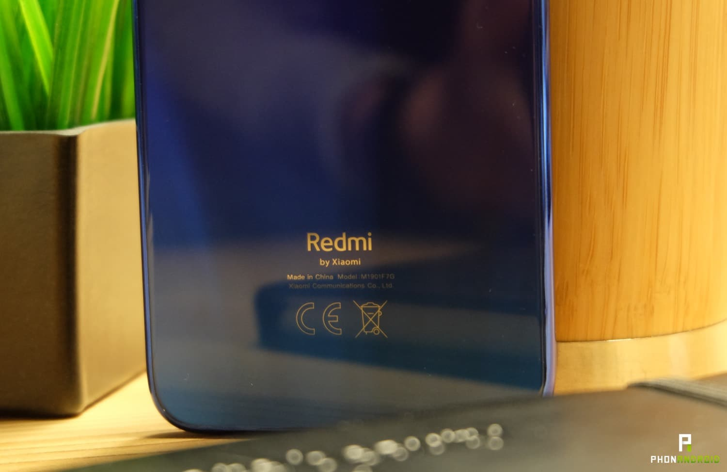 test xiaomi redmi note 7 design logo