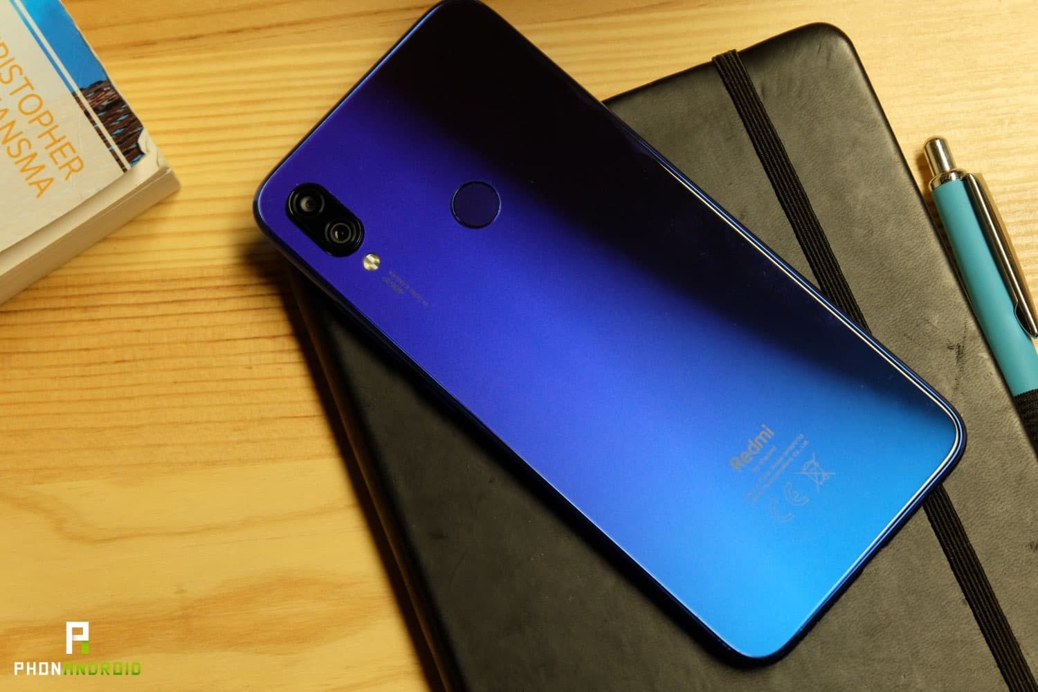 test xiaomi redmi note 7 design reflets